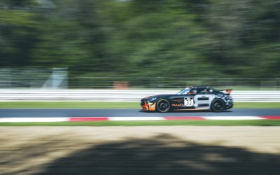 Bullitt Racing takes double points finish from demanding GT4 European Series contest at Brands Hatch